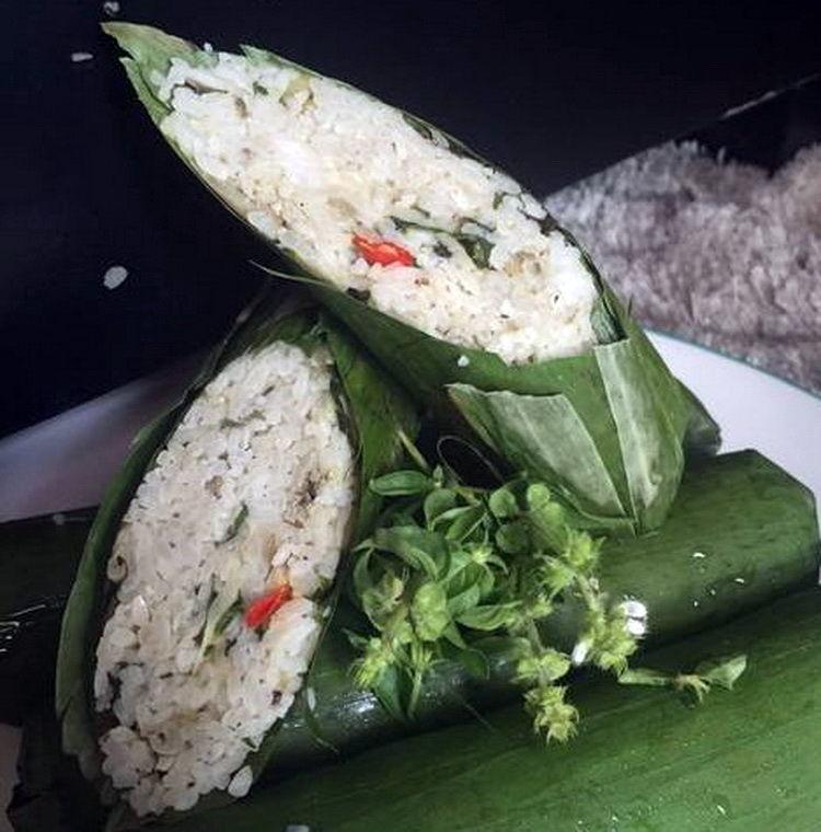 Langkah Bikin Resep Nasi Bakar Teri Medan Serta Kemangi.jpg